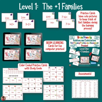 Addition and Subtraction Fact Fluency Freebie