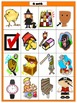 Systematic Blends and Digraphs Picture/Word Match Center