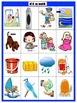 Systematic Long Vowels and Diphthongs Picture/Word Match Center