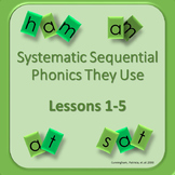Systematic Sequential Phonics Interactive PPT Presentations, Smartboard