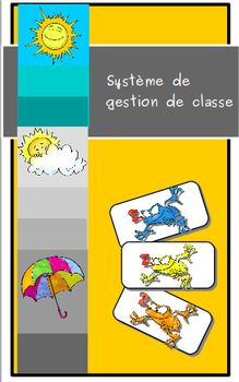 Système de gestion de classe:  les grenouilles