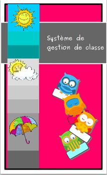 Système de gestion de classe:  les hiboux