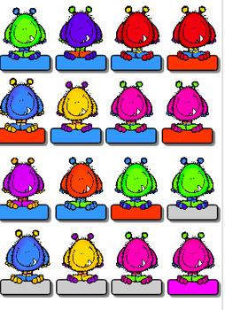 Système de gestion de classe:  les p'tits monstres