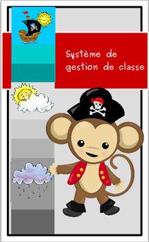 Système de gestion de classe:  les pireates animaux