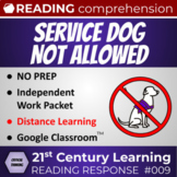 Systemic Discrimination? Service Dog not Allowed Reading R