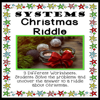 Systems Christmas Riddle