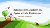 Systems, Cycles, Relationships within the Environment PART 1