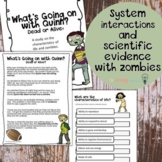 Characteristics of Life. CER. Zombie Style. Google Slides