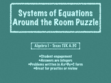 Systems Of Equations Around the Room Puzzle