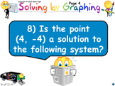 Systems - Solving by Graphing