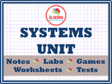 Systems Unit Bundle - Substitution, Elimination