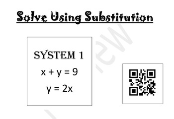 Systems Using Substitution with QR Codes