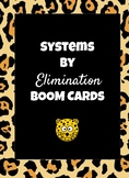 Systems by Elimination Boom Cards