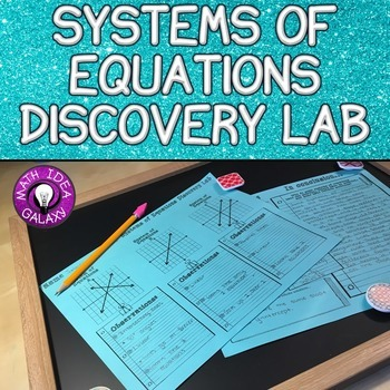 Systems of Equations Lesson (Discovery Lab)