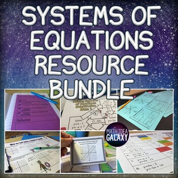 Systems of Equations Games, Activities & Resources