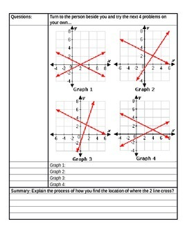 Systems of Equations 8th Grade TEKS