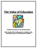 Systems of Equations: A comparison of salaries in the nurs
