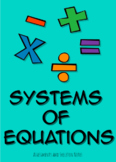 Systems of Equations Assessments