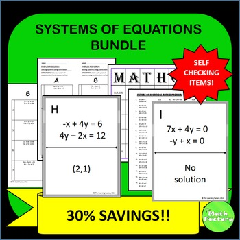Systems of Equations Bundle