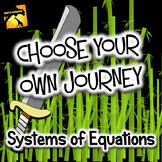 "Systems of Equations: ""Choose Your Own Journey"" book"