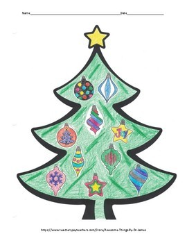 Systems of Equations Christmas Tree Activity *Freebie*