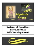 Systems of Equations Solve Any Way Self-Checking Circuit