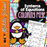 SYSTEMS OF EQUATIONS MATH COLOR BY NUMBER, QUIZ