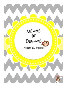 Systems of Equations: Compare and Contrast