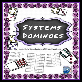 Systems of Linear Equations Domino Set