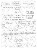Systems of Equations-Elimination Guided Notes