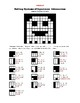 Systems of Equations - Elimination - Hidden Picture PacMan Activity