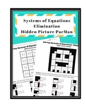 Systems of Equations - Elimination - Hidden Picture PacMan