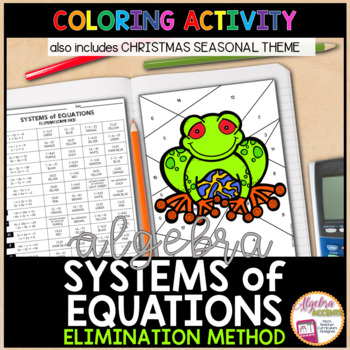 Solving Systems of Equations using the Elimination and Sub