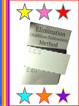 Systems of Equations: Elimination Presentation and Notes