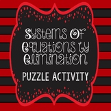 Systems of Equations - Elimination Puzzle