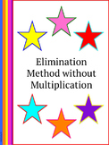 Systems of Equations: Elimination without Multiplication