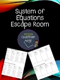 Systems of Equations Escape Room