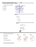 Systems of Equations Exit Slip