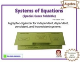 Systems of Equations Foldable (for Special Cases)