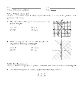Systems of Equations (Graphic and Algebraic)