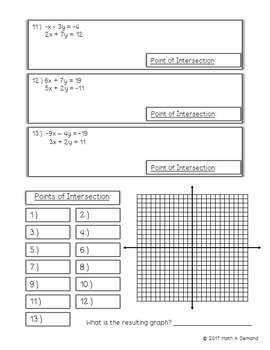 Systems of Equations Halloween Activity