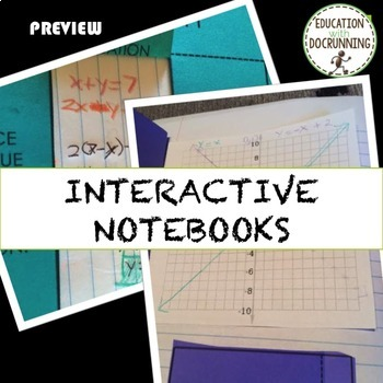 Systems of Equations Inquiry Notes Activity Project Bundle (SAVE)