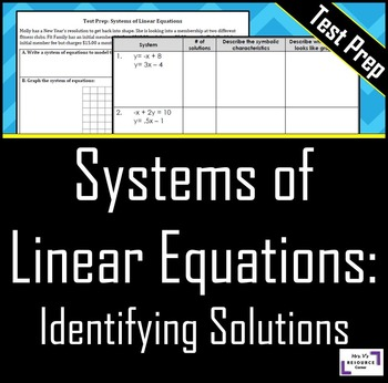 Identifying Solutions to a System of Equations