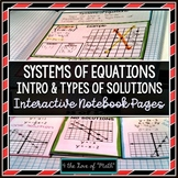 Systems of Equations Introduction & Types of Solutions: INB Pages