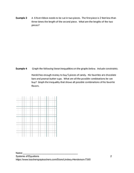 Systems of Equations Lesson 8 of 11