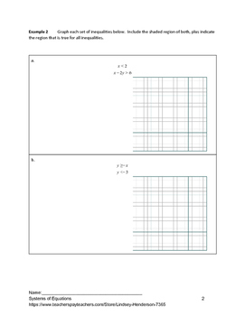 Systems of Equations Lesson 9 of 11