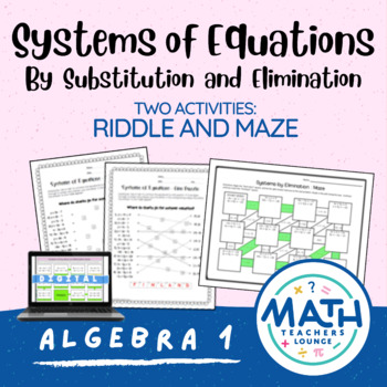 Systems of Equations: Line Puzzle Activity