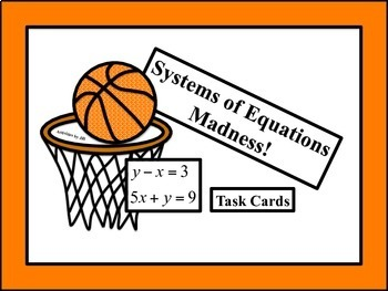 Systems of Equations Madness!