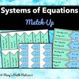 Systems of Equations: Match-Up