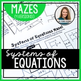 Systems of Equations Mazes